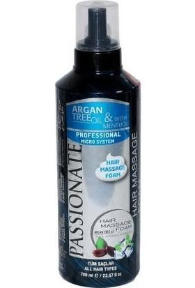 Passionate Saç Masaj Köpüğü Arganmenthol 700 ml