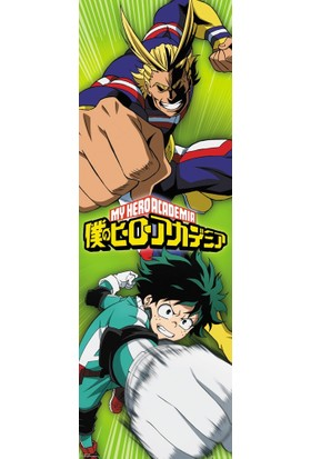 GB Eye My Hero Academıa Deku & Almıgty Door Poster