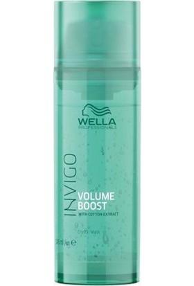 Wella Invigo Volume Boost Pamuk Ekstrat Kristal Saç Maskesi 145 ml