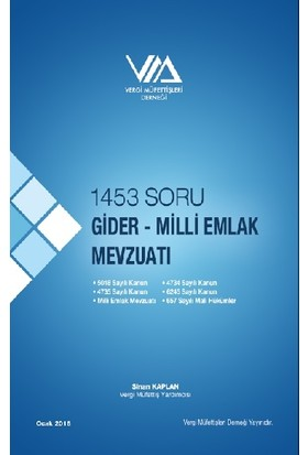1453 Soru Gider - Milli Emlak Mevzuatı - Sinan Kaplan