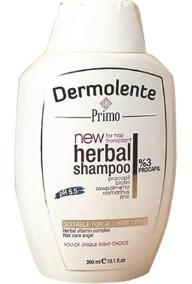 Dermolente Saç Dökülmmelerine Karşı Procapil Şampuan 300 ml