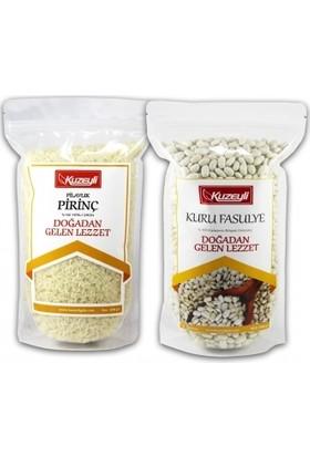 Kuzeyli Gıda Pirinç 1 kg ve Kuru Fasulye 1 kg