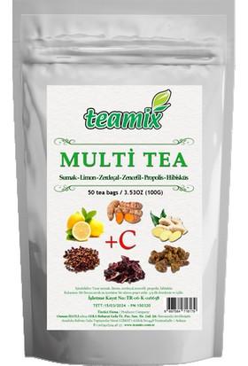 Teamix Multi Tea 50 Süzen Poşet 100 gr
