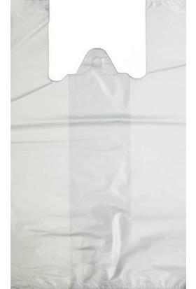 Ekokap Beyaz Poşet Orta Boy 28 cm x 40 cm 1 kg