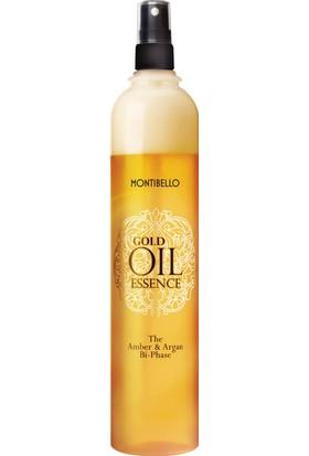 Montibello Gold Oil Essence Amber & Argan Iki Fazlı Durulanmayan Krem 400ML