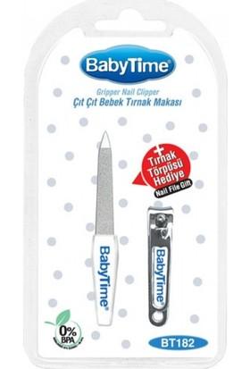 Baby Time Çıt Çıt Bebek Tırnak Makası + Tırnak Törpüsü