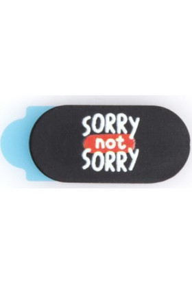 Funsylab Webcam Cover | Sorry Not Sorry Mini