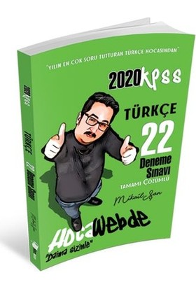 Hocawebde 2020 KPSS Türkçe Tamamı Çözümlü 22 Deneme