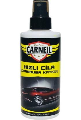 Carneil Araba Otomobil Kaporta Parlatıcı Pratik Hızlı Parlaklık Verici Carnauba Katkılı Sprey Cila HC1000