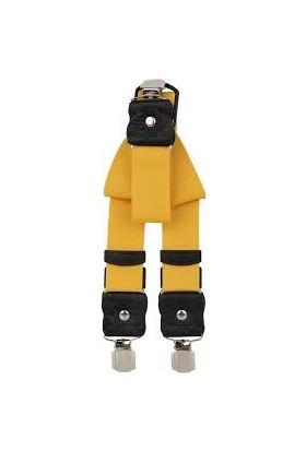 Velila Unisex Sarı Pantolon Askısı