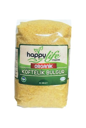 Happy Life Organik Köftelik Bulgur 1 kg