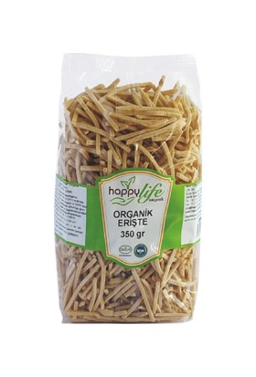 Happy Life Organik Erişte 350 gr