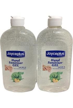 Joyce Plus Antibakteriyel Jel El Dezenfektanı 2'li 500 ml