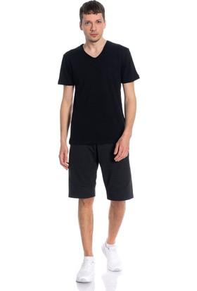 Slazenger Set Erkek T-Shirt Siyah