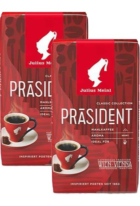 Julius Meinl President Ground Filtre Kahve 250 gr x 2 Adet
