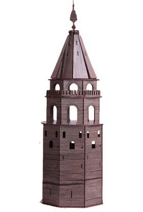 Pershang Ahşap Yeni Galata Kulesi 3 Boyutlu Yapboz