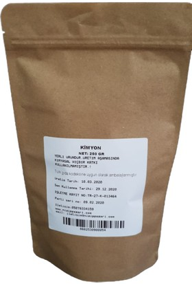 Nizip Pazarı Kimyon 250 gr