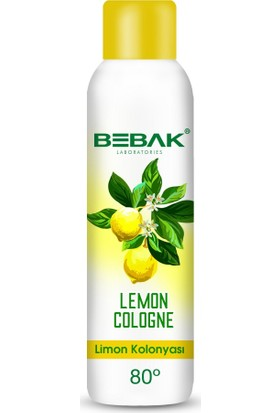 Bebak Limon Kolonyası Sprey 150 ml