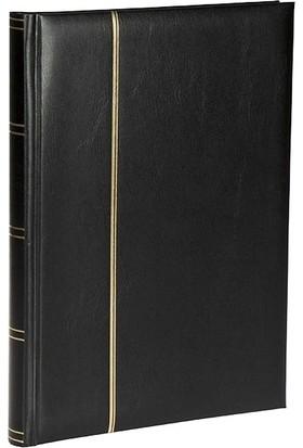 Leuchtturm Zarf Koleksiyonu Için A4 Boyut 15 Yaprak 30 Sayfa 60 Adet Bölme Siyah Zemin Lacivert