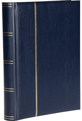 Leuchtturm Zarf Koleksiyonu Için A4 Boyut 32 Yaprak 64 Sayfa 128 Adet Bölme Siyah Zemin Lacivert