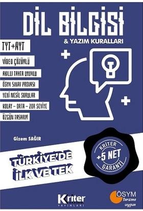 Kriter Akademi Yayınları 5 Net Garantili Dil Bilgisi