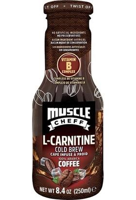 Muscle Cheff L-Carnıtıne Cold Brew - Soğuk Kahve 250 ml
