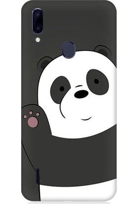 Teknomeg Casper Via G4 Sevimli Panda Desenli Tasarım Silikon Kılıf