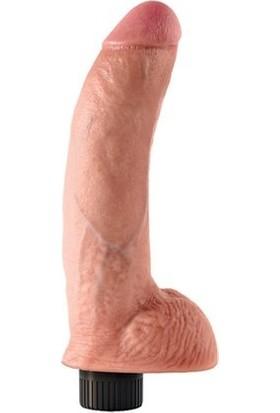 King Cock | Realistik Penis Vibratör 26.00 cm