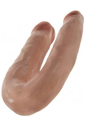 King Cock | Double Penetrasyon Dildosu 16.00 cm