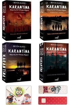 Karantina Set (4 Kitap - Mini Defter ve Ayraç Hediyeli) - Beyza Alkoç