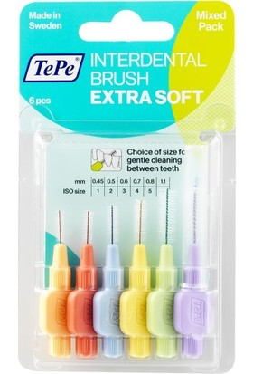 Tepe Blister Extra Soft Set 6 Lı