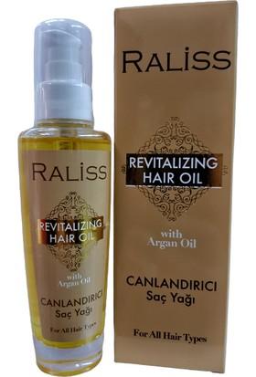 Raliss Revıtalızıng Hair Oil With Argan / Canlandırıcı Argan Saç Bakım Yağı 90 ml