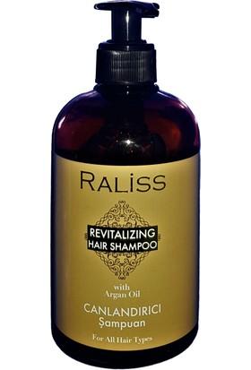 Raliss Revıtalızıng Hair Shampoo With Argan Oil / Canlandırıcı Şampuan 500 ml