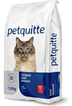 Petquıtte Kuzu Yetişkin Kedi Maması 1,5 kg