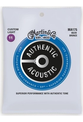 Martin & Co MA175 Akustik Gitar Teli