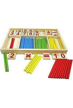 Wooden Toys Matematik Sayı Çubuğu Seti