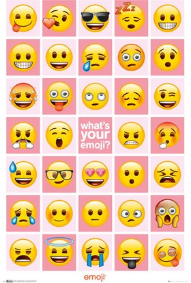 GB Eye Emoji Know Your Emoji Maxi Poster