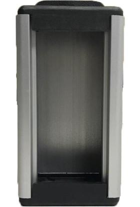 SCS Alüminyum Bürotik 2 x 45 Priz Kasası