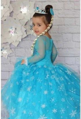 DuhaTeks Frozen Elsa Kostüm