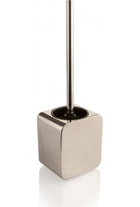 Gedy Polaris Tuvalet Fırçası Gümüş Paslanmaz Çelik