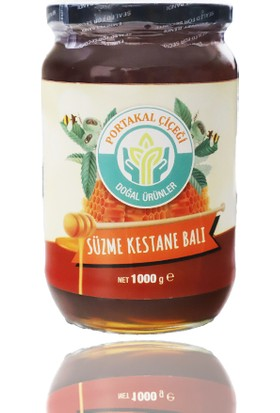Portakal Çiçeği Süzme Kestane Balı 1000 gr