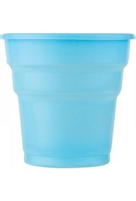 Bkr Bardak Plastik Açık Mavi 50'li