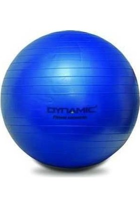 Dynamic 65 cm Mavi Pilates Topu ve Şişirme Pompası