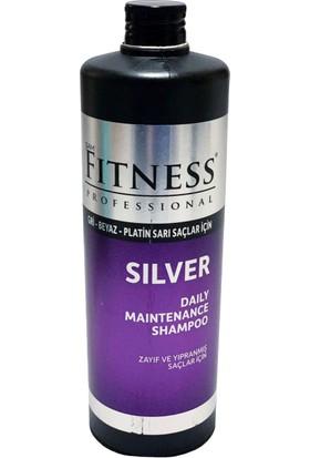 Fitness Professional Silver Mor Şampuan - Gri Beyaz Platin Sarı Saçlara Uygun 750 ml