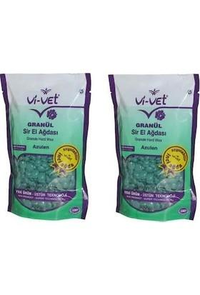 Vi-Vet Granül Soyulabilir Boncuk Sir Ağda Azulen 250 gr 2 Adet