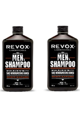 Revox Men Saç Dökülmesine Karşı Şampuan 400 ml x 2 Adet