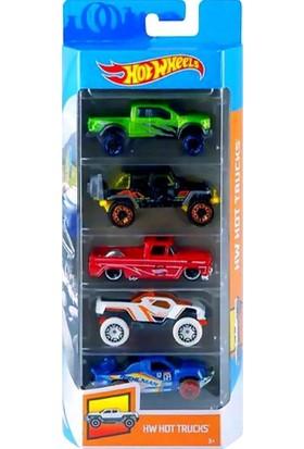 Hotwheels Beşli Araba Seti 01806 - GHP51