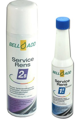 Bell-Add Benzinli Katalitik Könvertör, Partikül Filtresi ve Yakıt Sistemi Temizleyici Set + Çanta