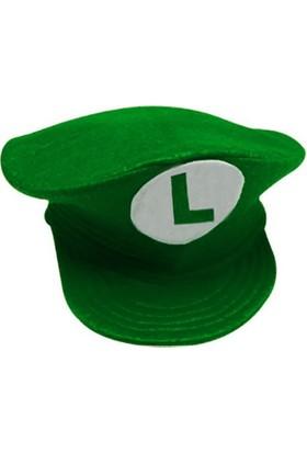 Kostümce Luigi Çocuk Şapkası