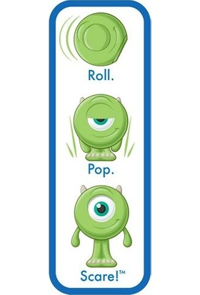Disney Pixar Monster University Yuvarlanan Figürler Mike